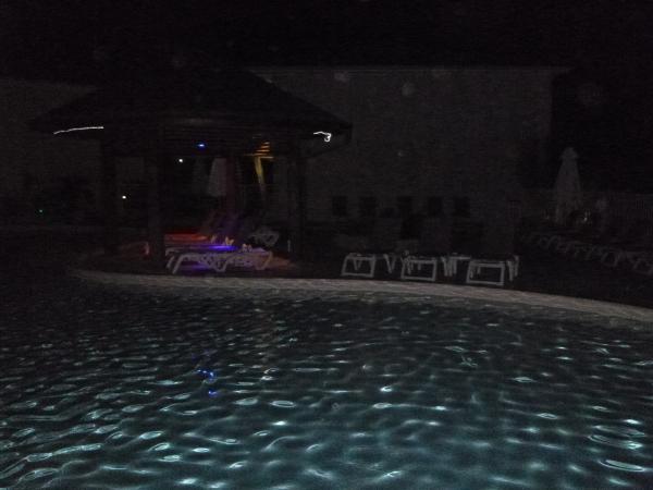 la piscine près du bar