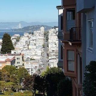 rues très pentues de San Francisco