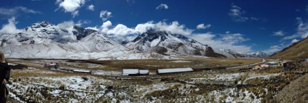 Sur la route entre Puno et Cusco