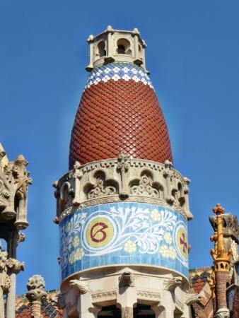 Le toit d'une tour