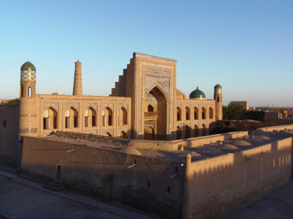 madrasa vue depuis le toit du restaurant la terrasse
