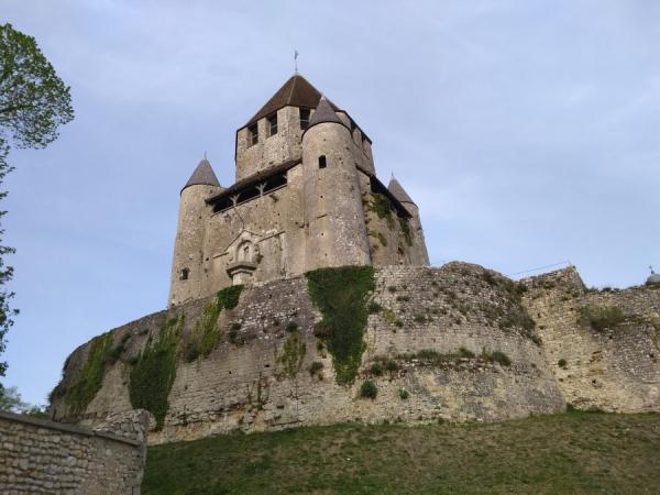 Vue de la tour de son pied