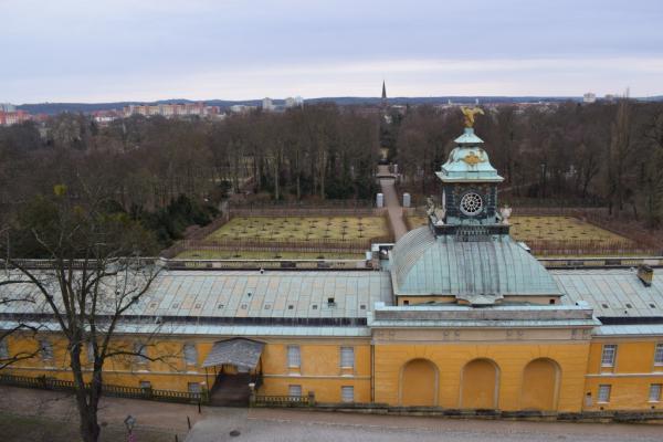 le château et le jardin