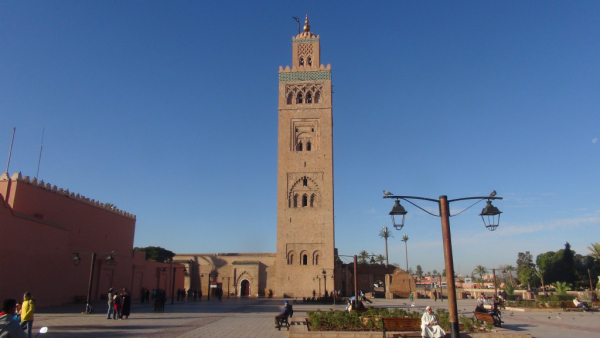 le splendide minaret