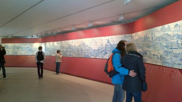 Fresque panoramique de Lisbonne