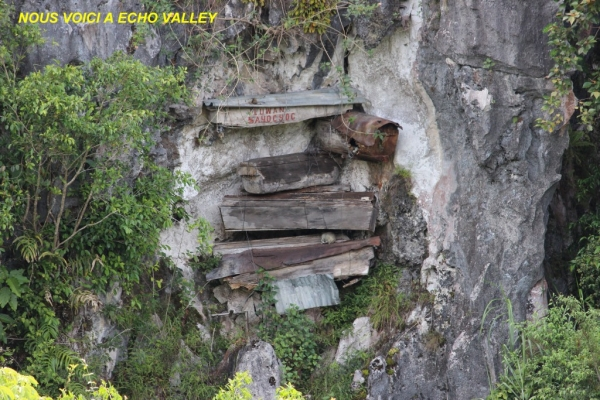 les sarcophages a ECHO VALLEY