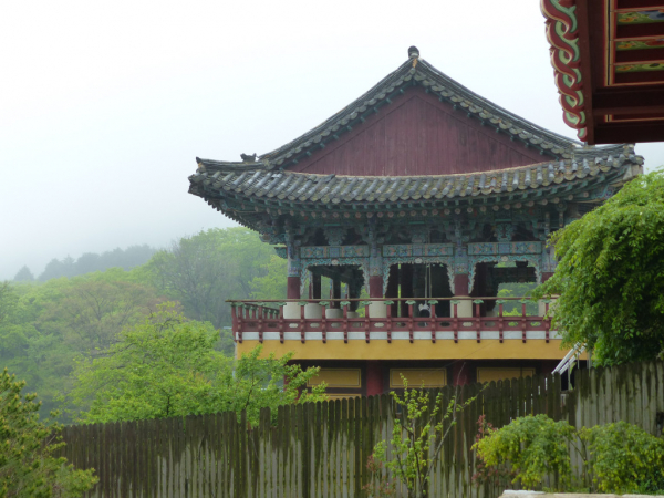 Temple Beomeosa, Busan, 2018, SB.
