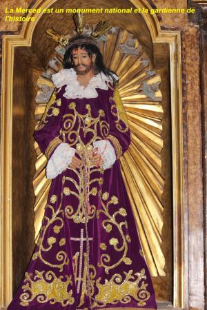 statue de l'église LA MERCED