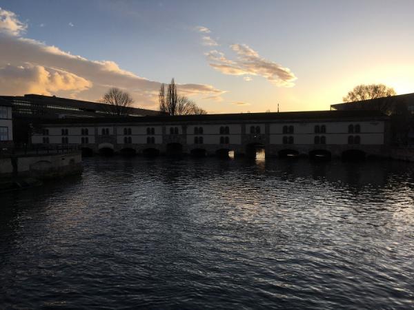 Barrage Vauban vu des Ponts Couverts