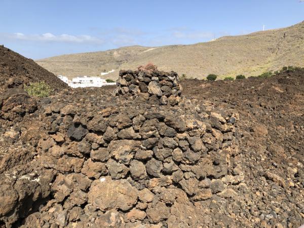 Une tombe dans le parc archéologique