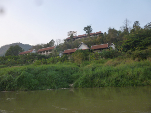 Le Lodge vu du Mékong