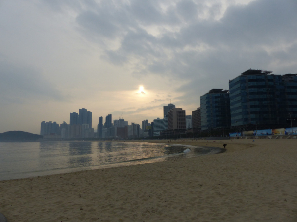 Plage de Haeundae, Busan, 2018, SB.