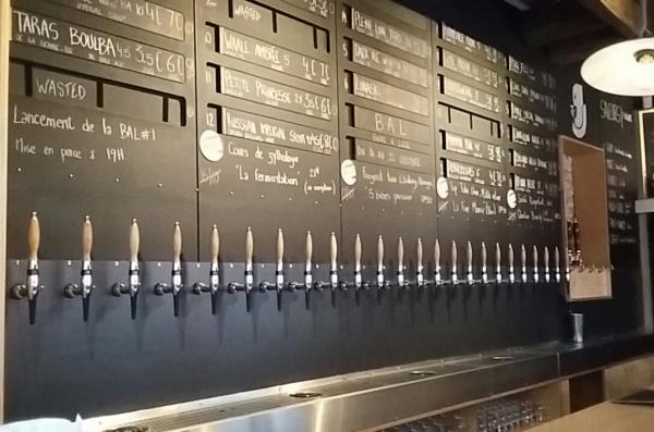 Une multitude de bières
