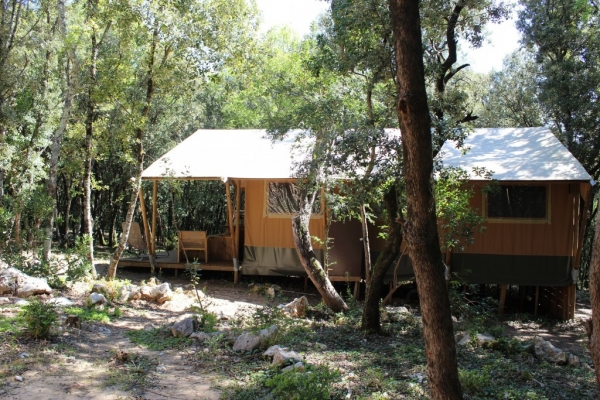 safari-lodge au camping mille étoiles