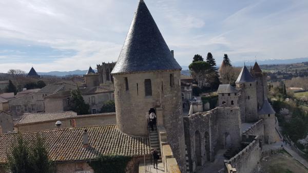 Château Comtal, Cité de Carcassonne!