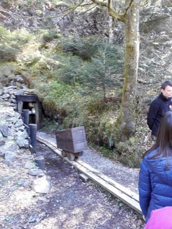 L entrée de la mine