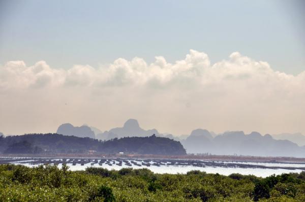 La Baie d'Halong terrestre