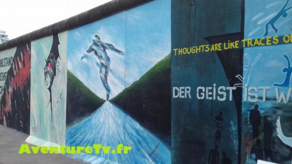East Side Gallery Mur de Berlin