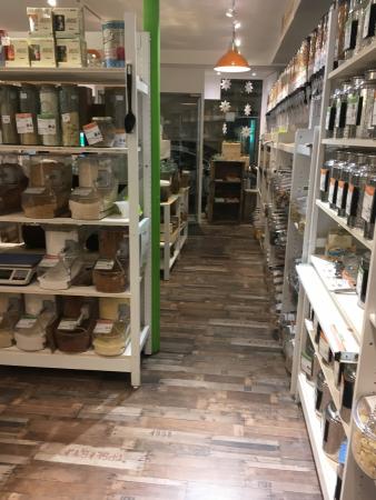 Intérieur du magasin