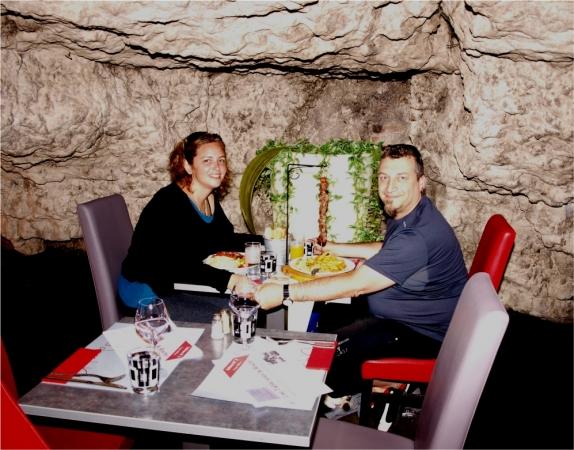 Un cadre sympa pour un petit diner en amoureux =)