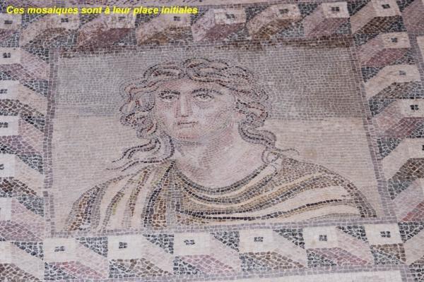 mosaïques de la maison de DIONYSOS