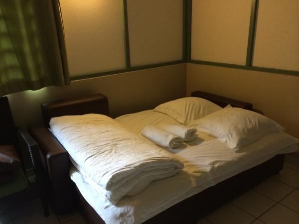 Canapé-lit pour dormir ! Une honte