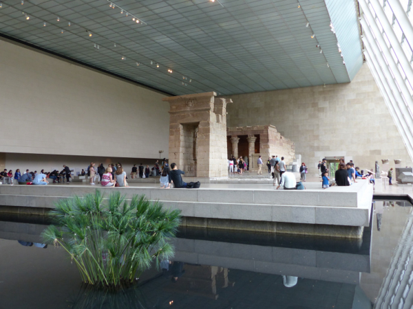 Temple égyptien, MET, juin 2017, SB