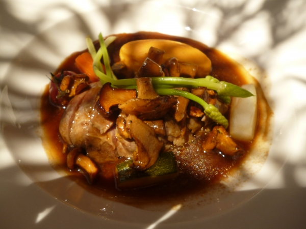 canette aux girolles