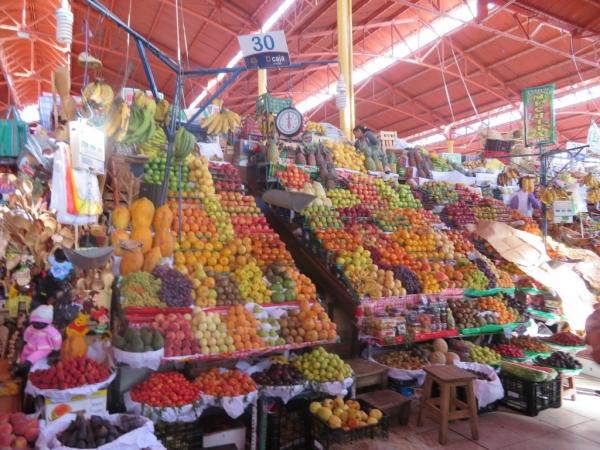 étal de fruits