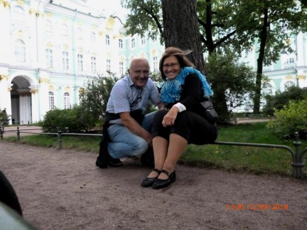 Dans le jardin de l'Ermitage