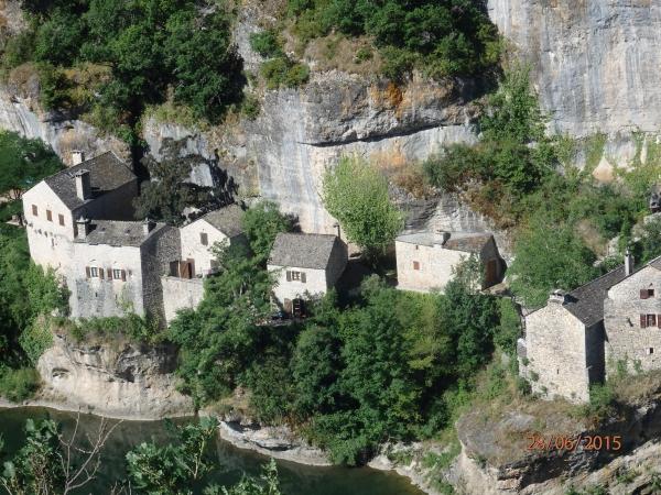 Village dans les Gorges