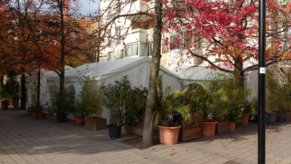 La terrasse extérieure