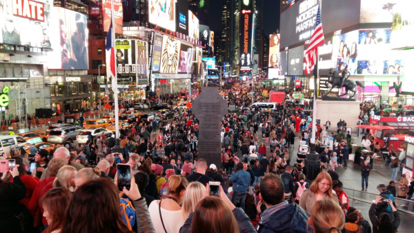 Times Square à NYC
