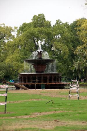 Le parc autour