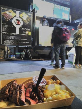 Night market, Dongdaemun Design Plaza, avril 2018, SB