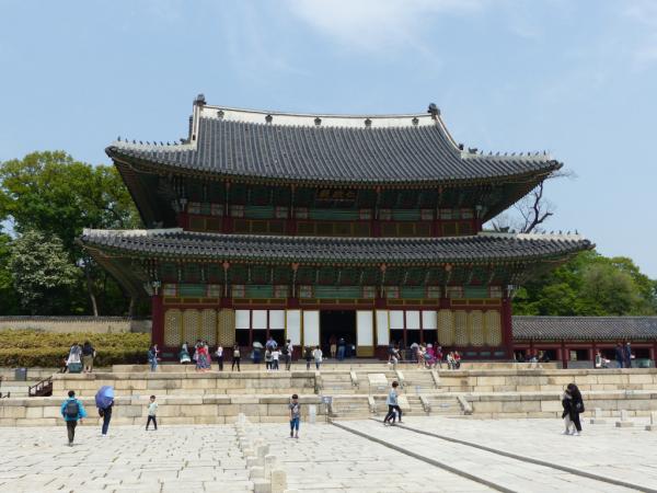 Palais Changdeokgung, avril 2018, SB