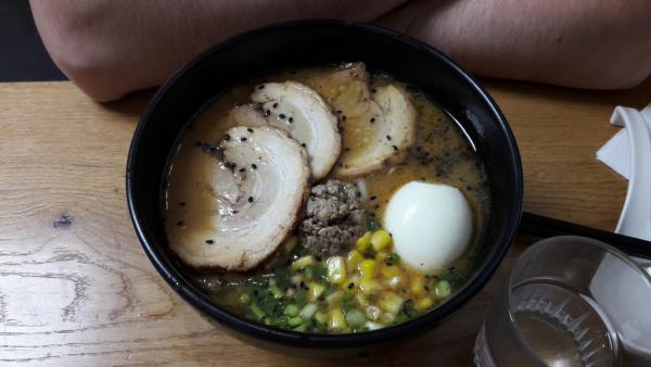 Ramen avec bouillon miso