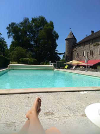 la piscine!