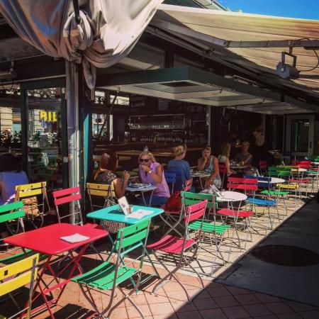 Café au Naschmarkt