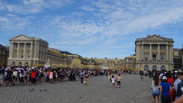 Versailles attente