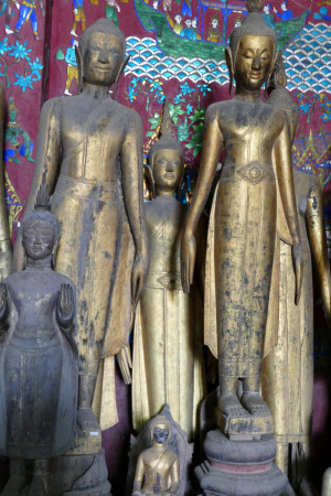 Des bouddhas précieux