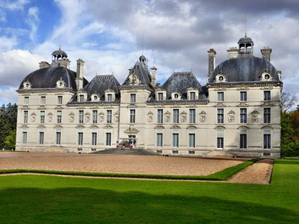 Le château (façade principel)