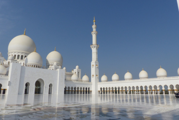 Mosquée (cour intérieure)