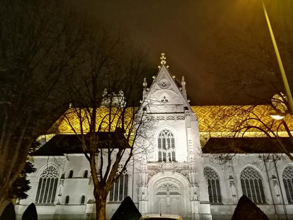 Monastère de nuit