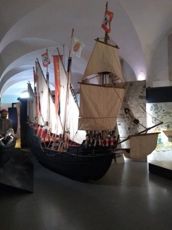 Bateau présenté dans l'exposition