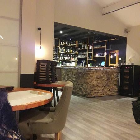 le bar du restaurant de la TABLE DE PABLO