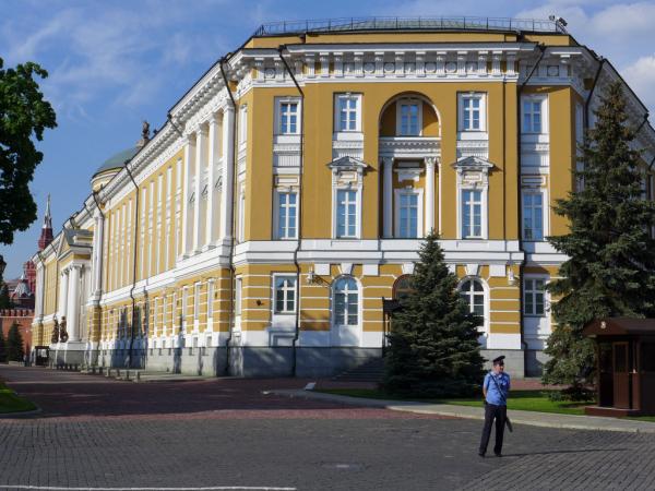 Les bureaux de Mr. Poutine