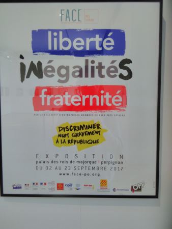 Exposition temporaire, Palais des Rois de Majorque, SB, 2017.