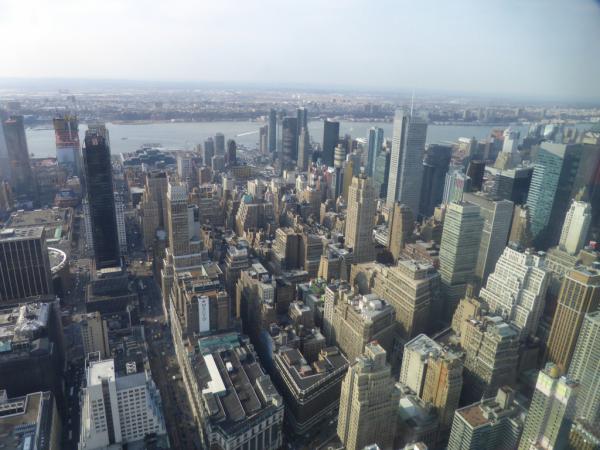 Vue sur Manhattan.
