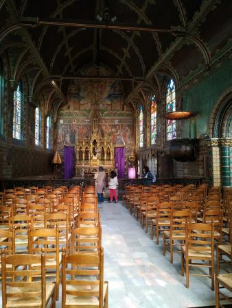 Vue depuis l'intérieur de la Cathédrale